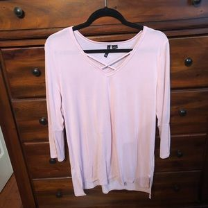 New directions blush top